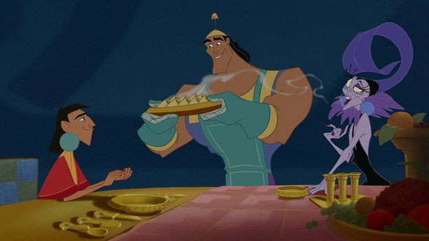 Kronk's Spinach Puffs From The Emperor's New Groove