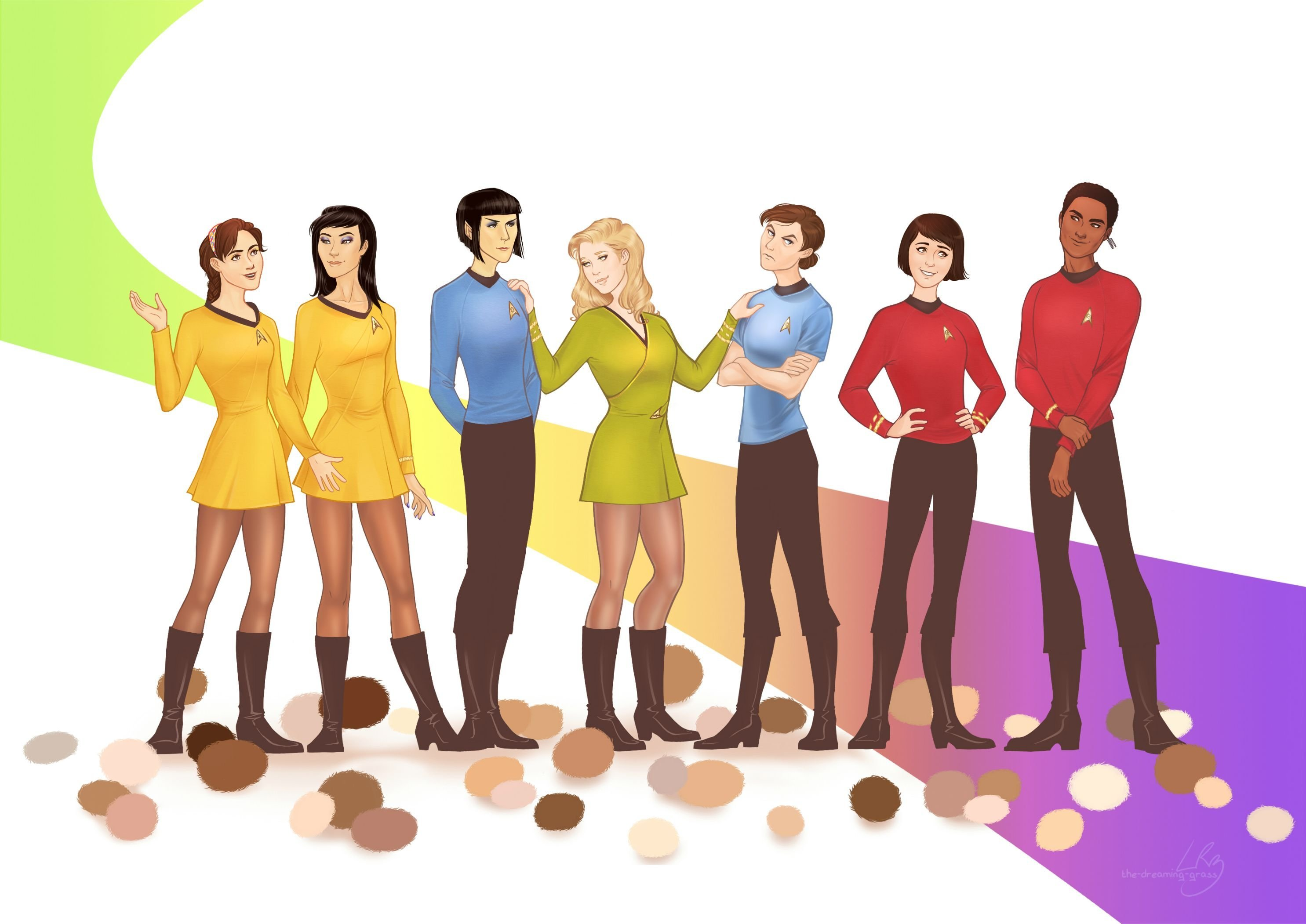 Star Trek The Rule 63 Series