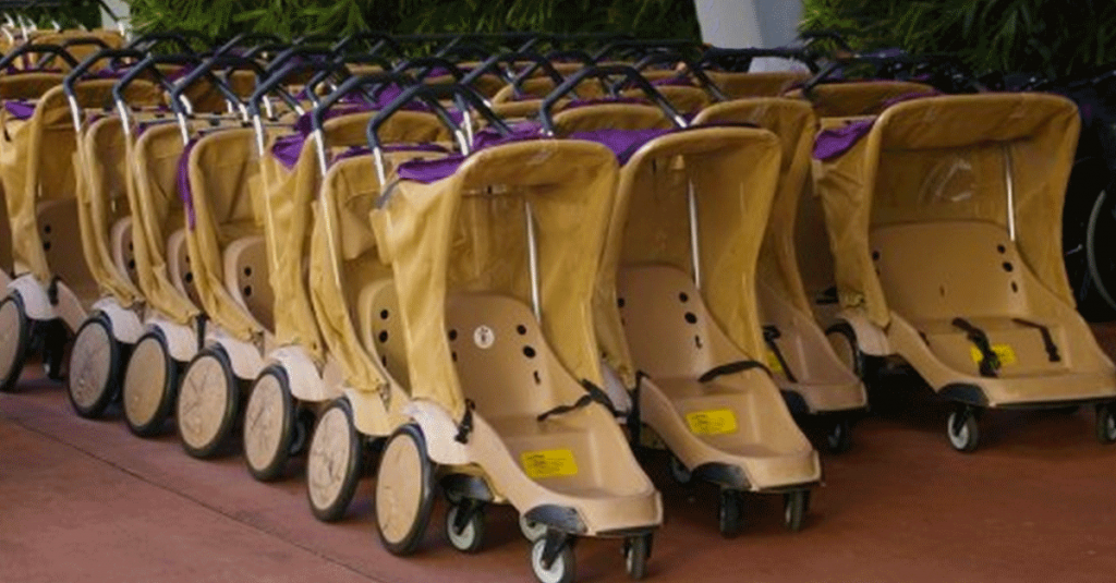 Rent your stroller by pre-payment online