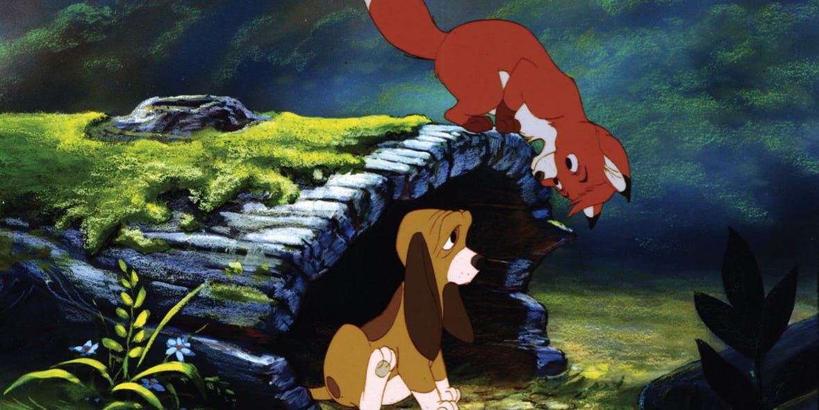 The Original Story Of The Fox And The Hound