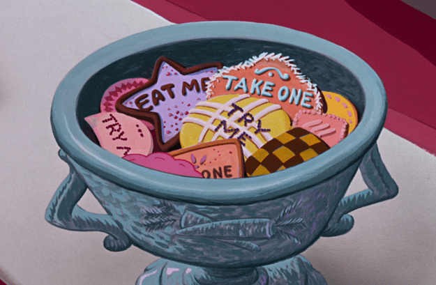The Magical Cookies From Alice in The Wonderland