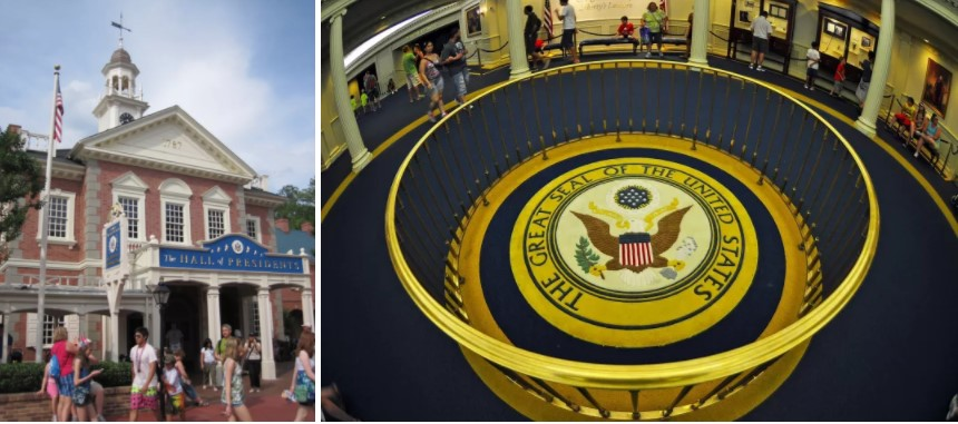 Hall Of The Presidents In Disney Land Is The Only Place