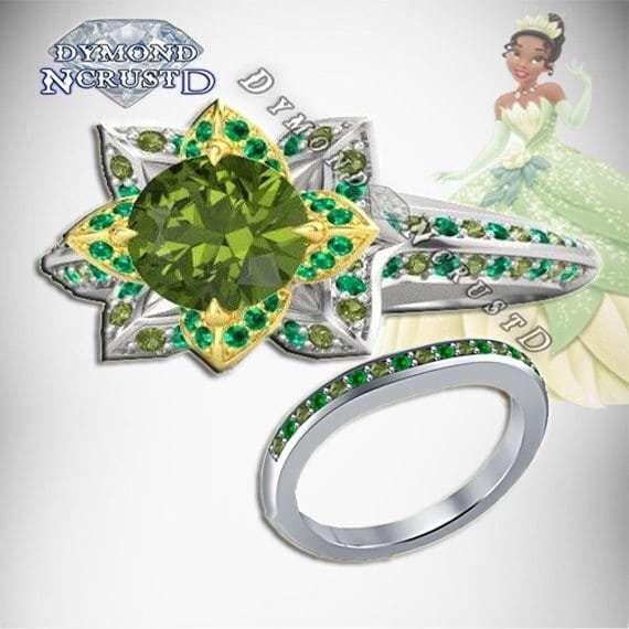 A Beautiful Tiana Inspired Ring