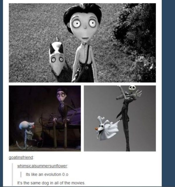 All Of Tim Burton Movies Are The Same