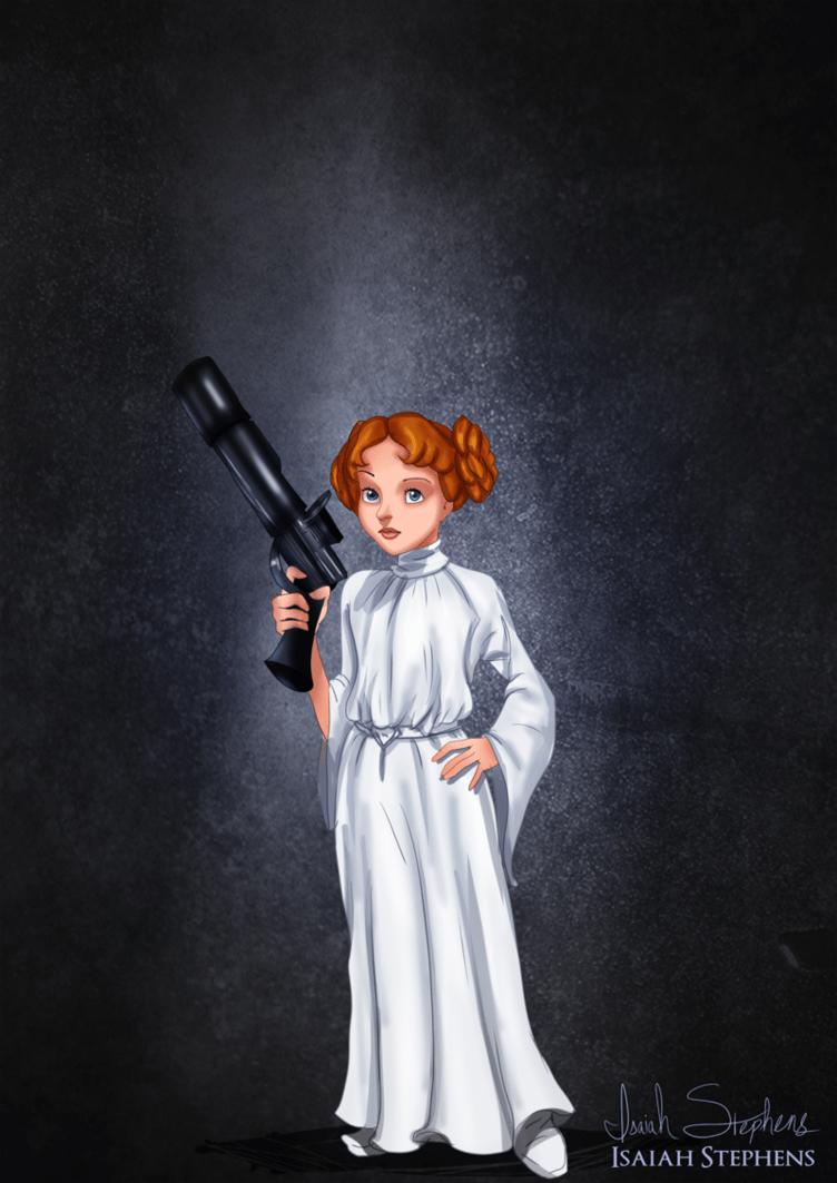 Wendy as Princess Leia