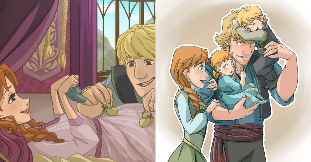artists imagined what happens to famous disney other characters if