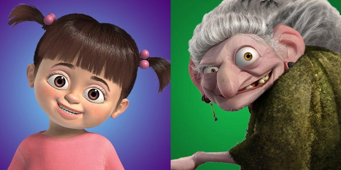 Boo and the Whackaddodle witch are the same person