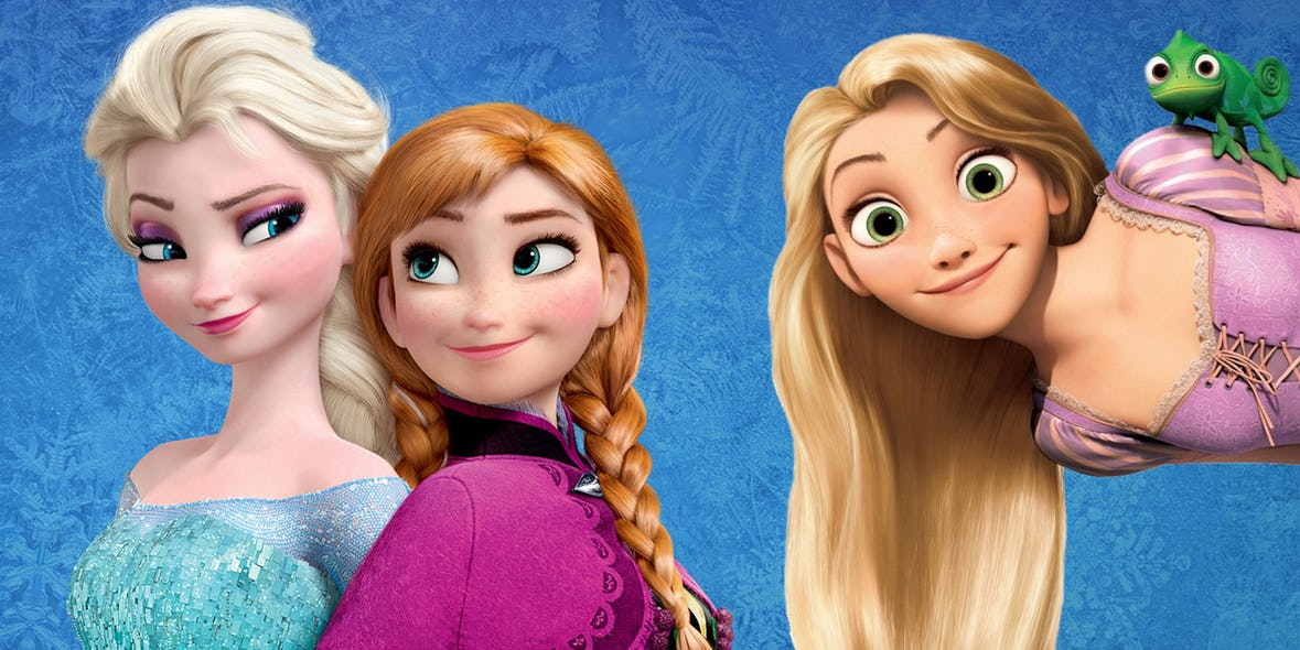 Elsa and Rapunzel are sisters