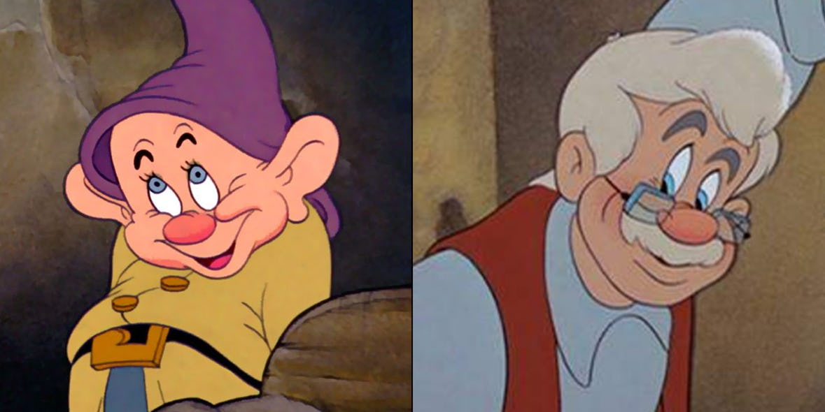 Gepetto and Dopey are the same person
