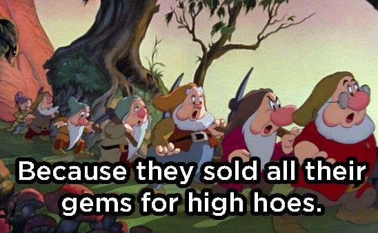 Why Did the Seven Dwarfs Go to Jail