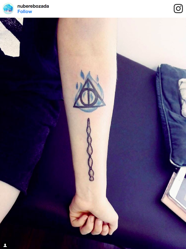 This Wand and Deathly Hallows