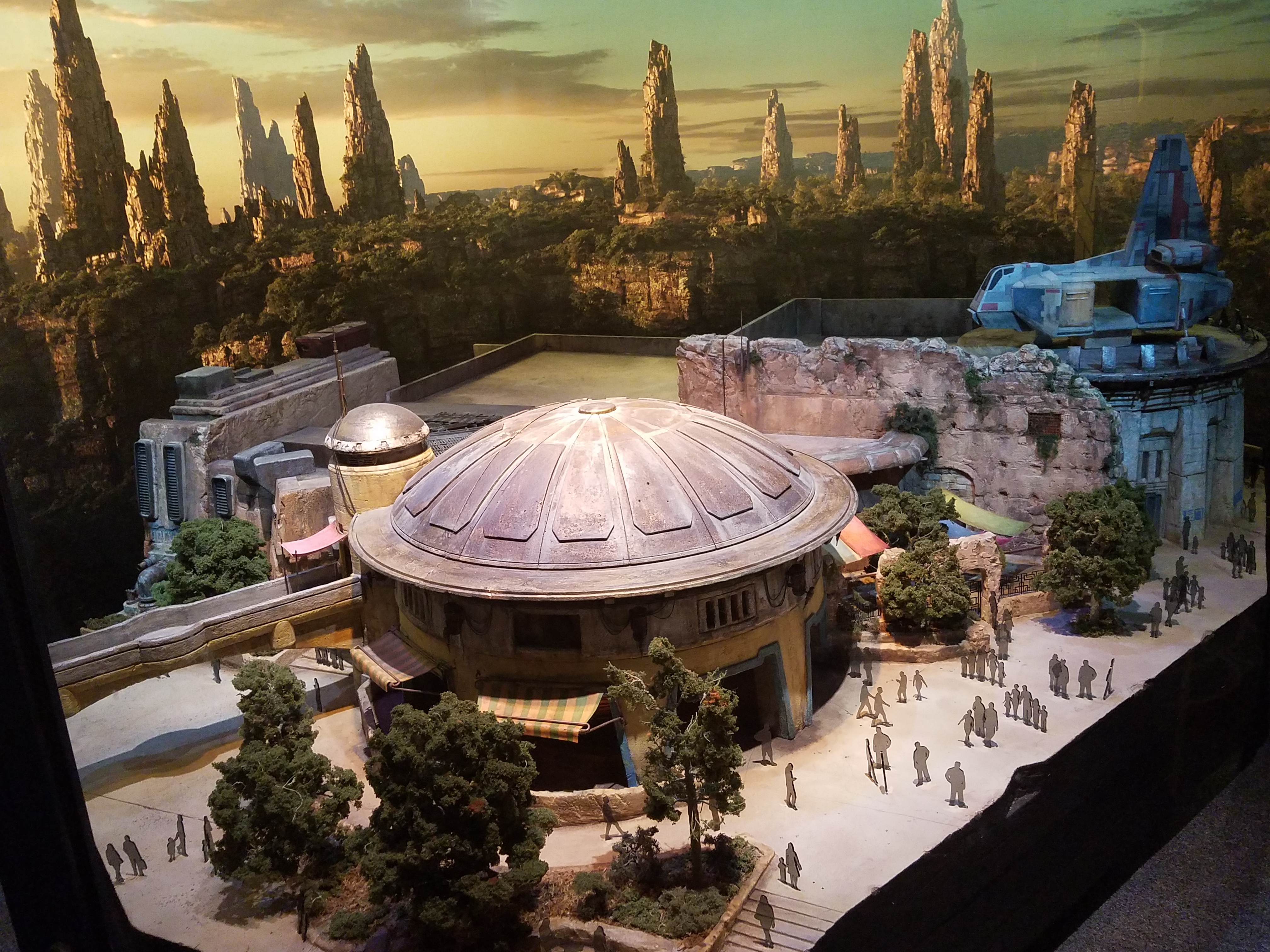 The Dome-Shaped Building Reminds Us of Tatooine Somehow