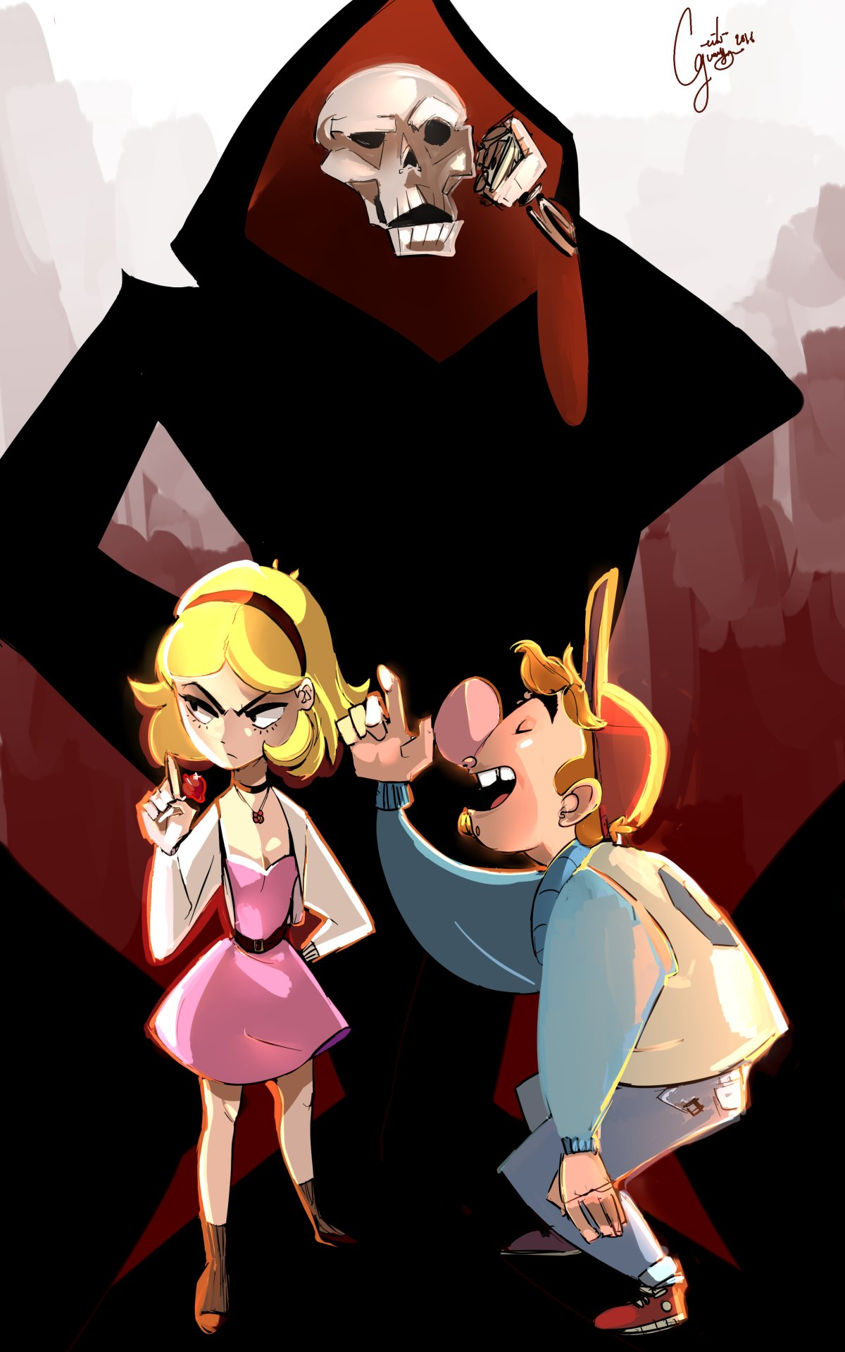 The Teen Adventures of Billy and Mandy