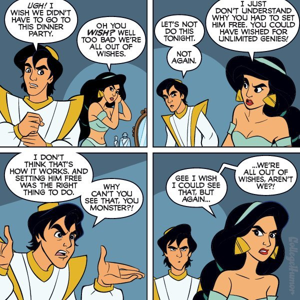 Aladdin and Jasmine: Make a Wish