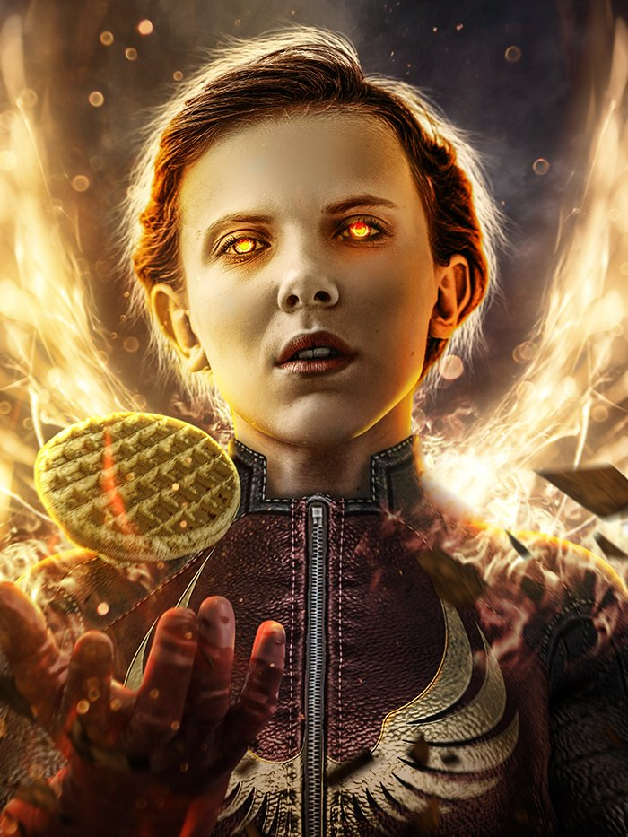 Millie Bobbie Brown as Jean Grey/Dark Phoenix