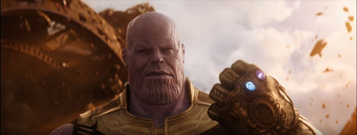 Chilling Sight of Thanos
