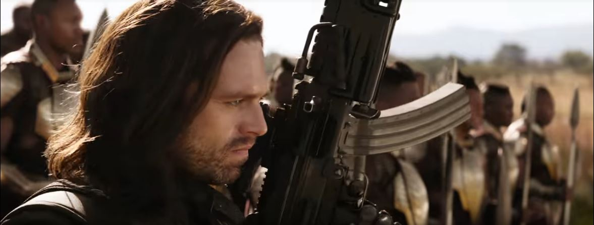 Bucky Barnes aka The Winter Soldier