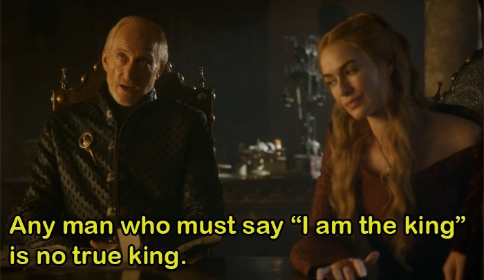 Tywin Lannister's Words