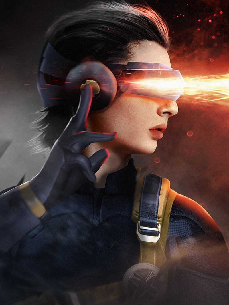 Finn Wolfhard as Cyclops