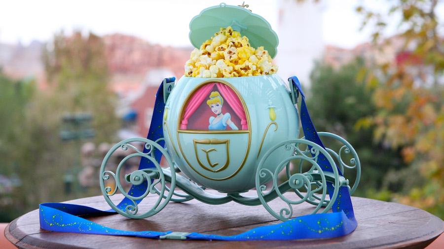Cindrella's Chariot Looks So Much More Prettier With Kernels of Popcorn