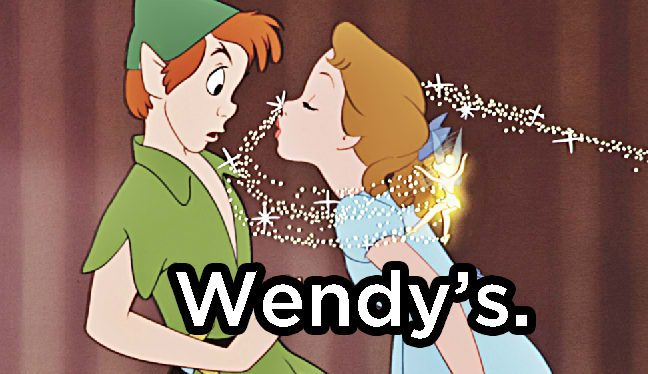 Where is Peter Pan's Favorite Place to Eat Out