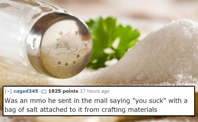 That Cyber Rubbing of Salt