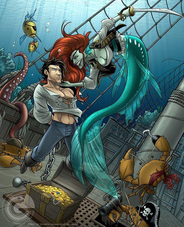Hot Crustacean Band...of Pirates