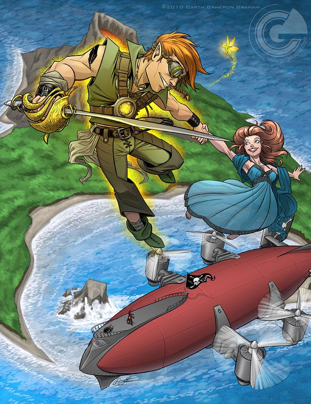 Skypirate Peter Pan