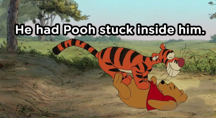 Why Was Tigger in the Bathroom for So Long