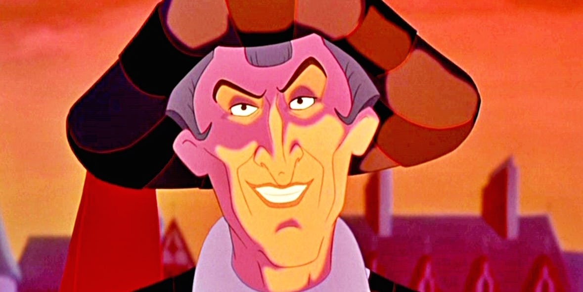 Judge Claude Frollo - The Huncheback Of Notre Dam
