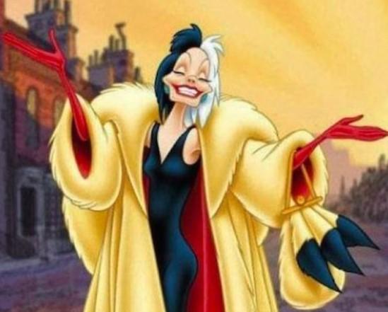 Cruella De Vil - 101 Dalmations