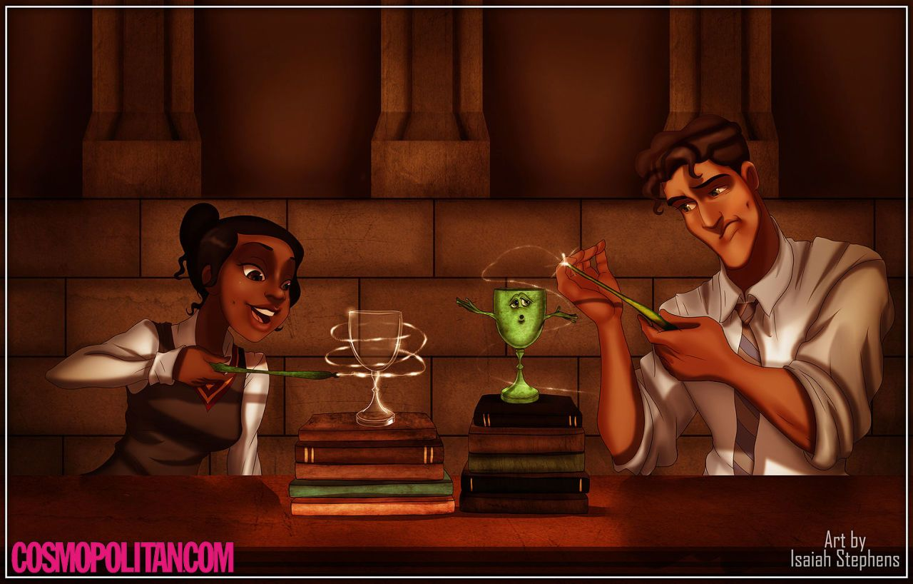 I am more curious about their green wands though
