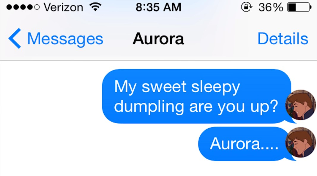 Why do guys always assume that we are sleeping