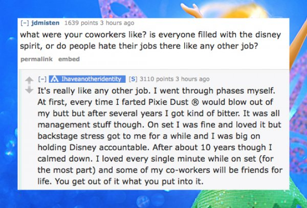 Pixie dust fart
