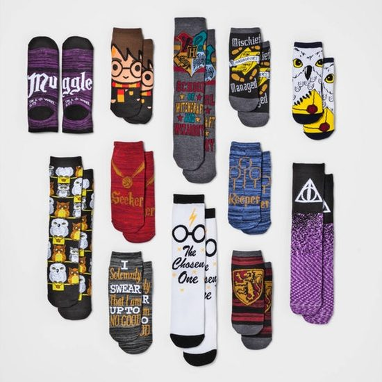 You have every kind of sock you will ever need