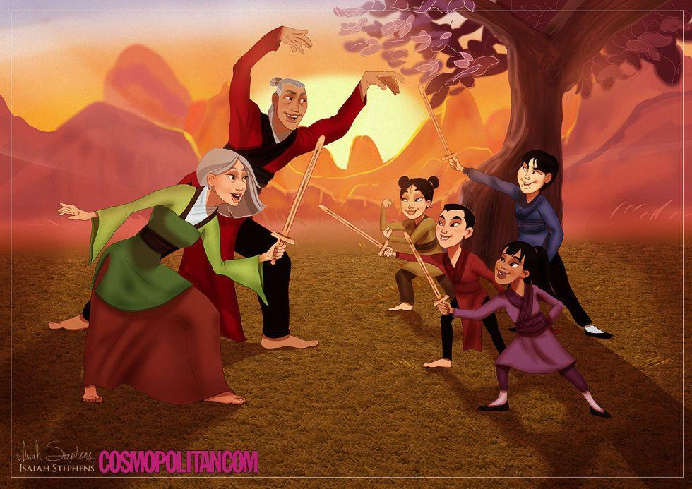Fa Mulan And li Shang