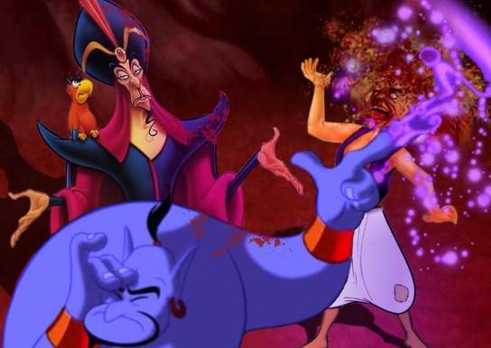 Jafar asks Genie to kill Aladdin