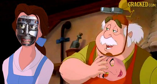 Belle is actually an android made by her Father