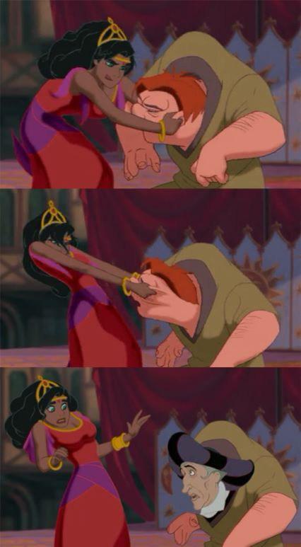 Quasimodois actually Claude Frollo
