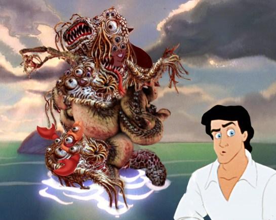 Ariel is a hideoussea monster