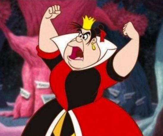 Queen of Hearts - Alice in the Wonderland