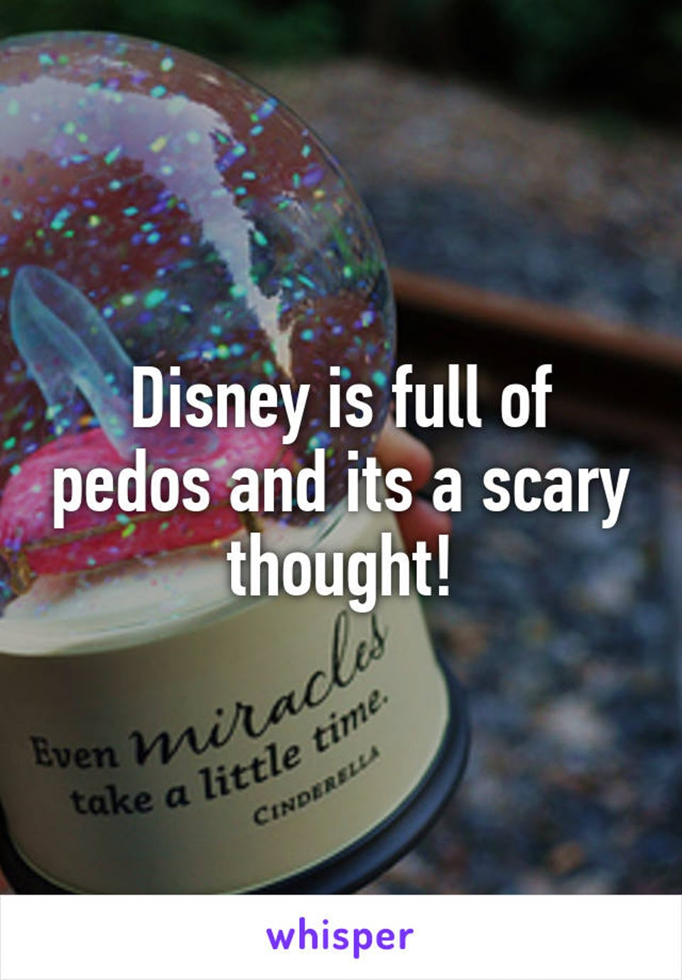 Disney land is full of children and laughter