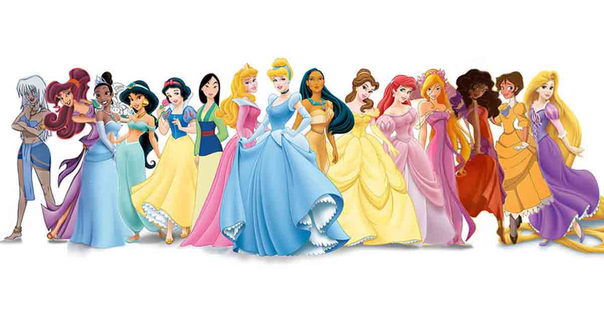 Someone Mixed Disney Princesses With Each Other And It Gets Really