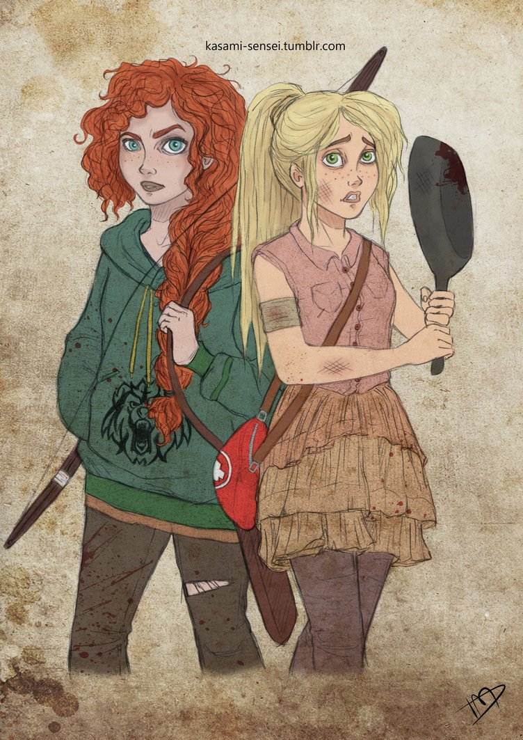 Merida And Rapunzel