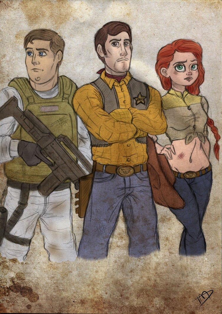 Woody, Buzz And Jessie
