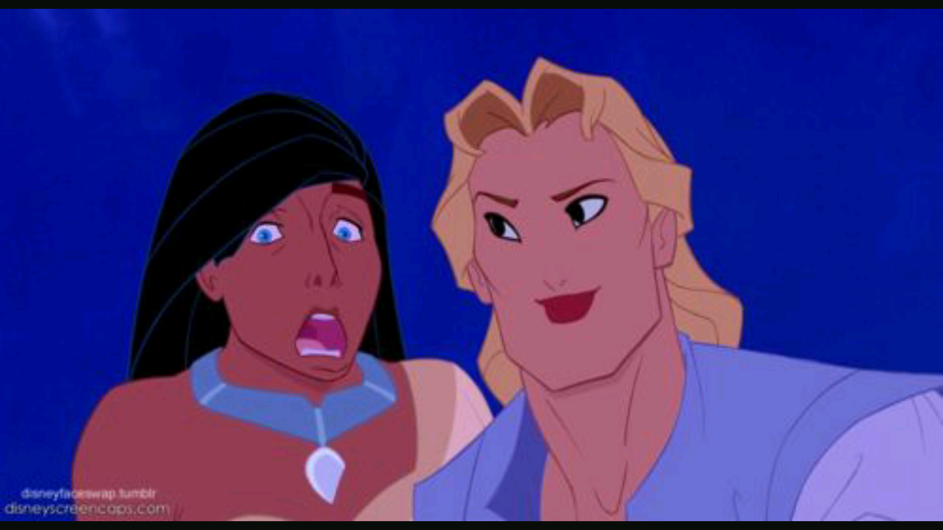 This Pocahontas and John Smith Swap