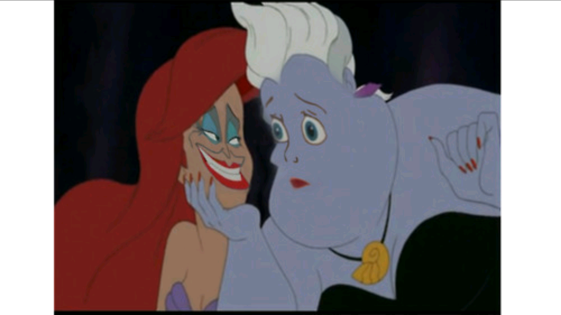 This Ursula and Ariel Swap
