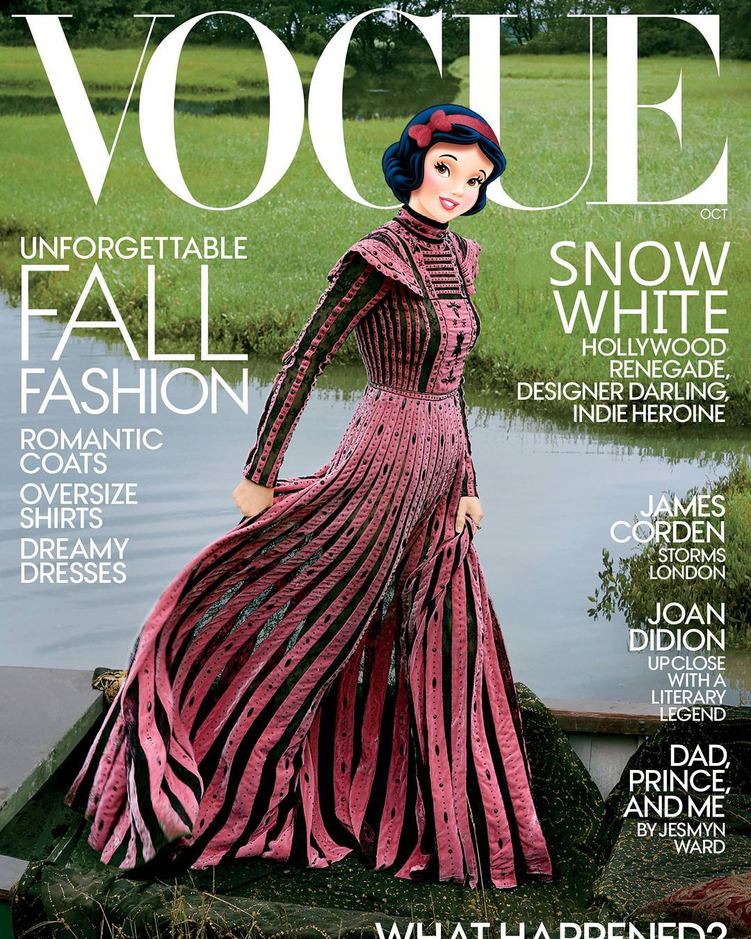 Snowwhite as Rooney Mara