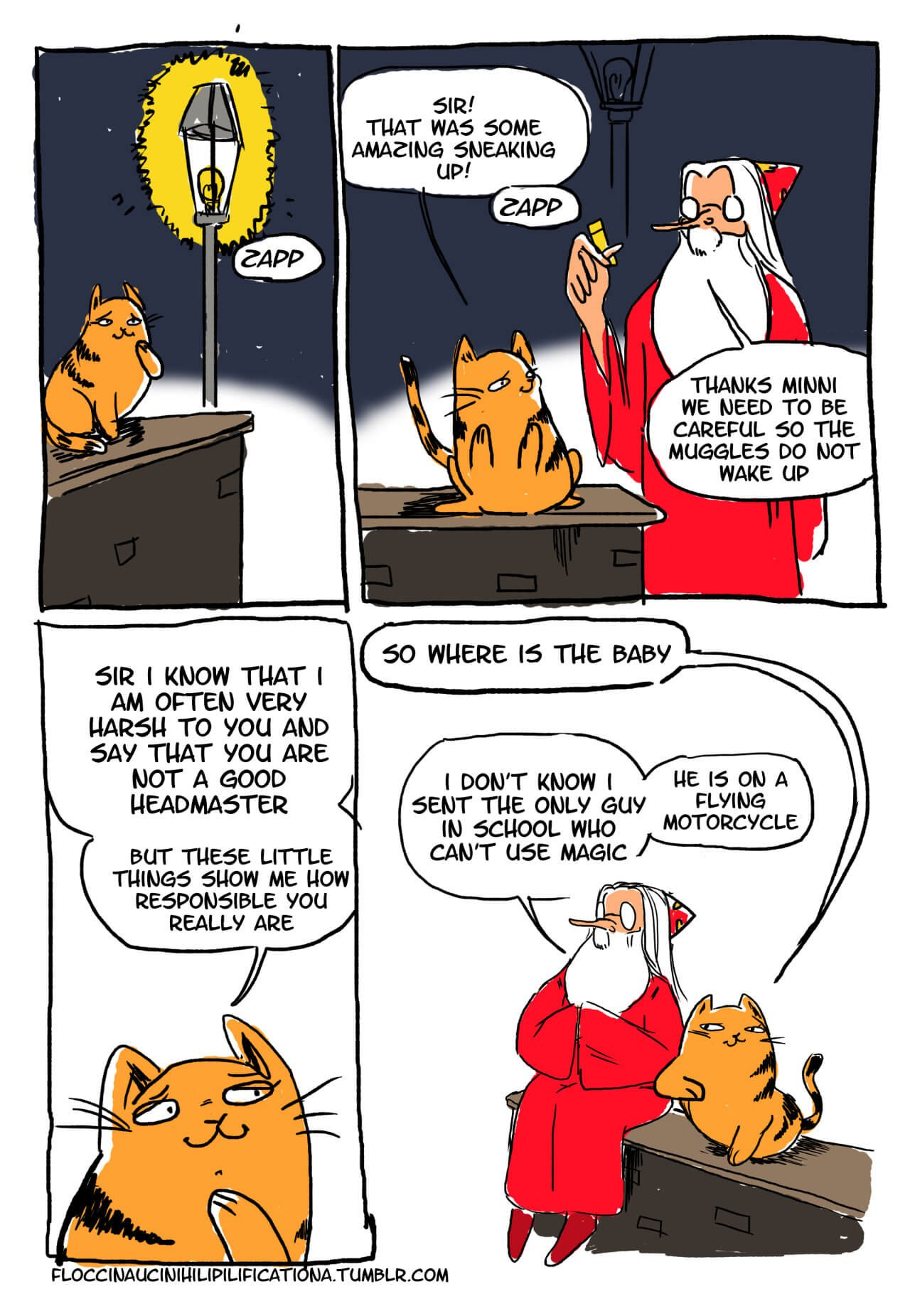 Dumbledore the Menace