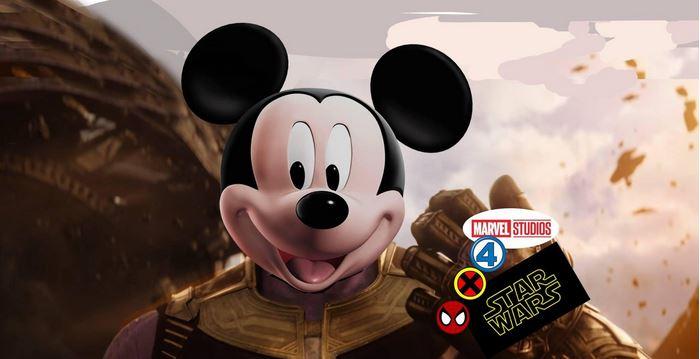 Disney be Like Thanos